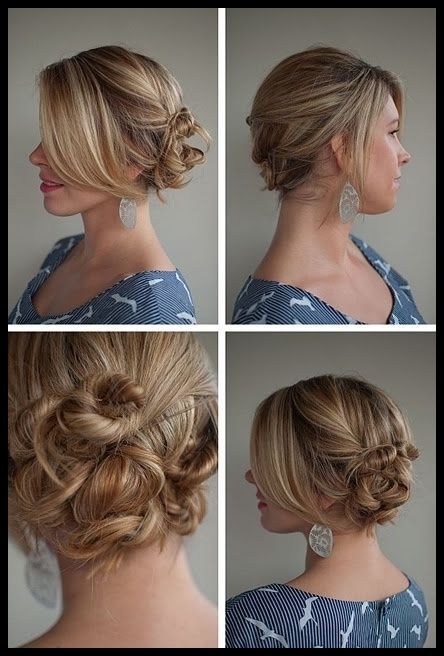 Top 6 Easy Casual Updos For Long Hair