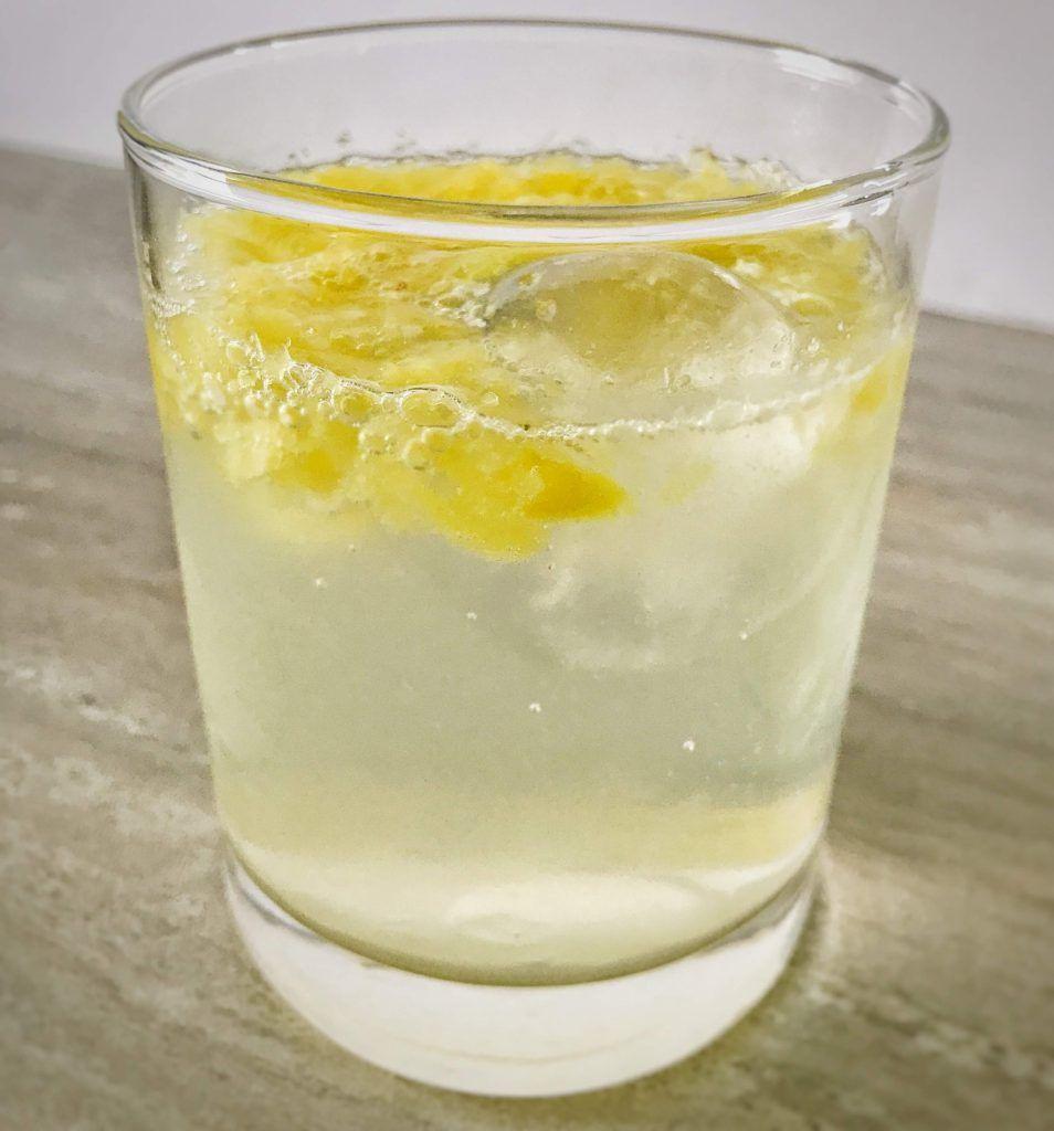 Sparkling Pineapple Vodka Cocktail