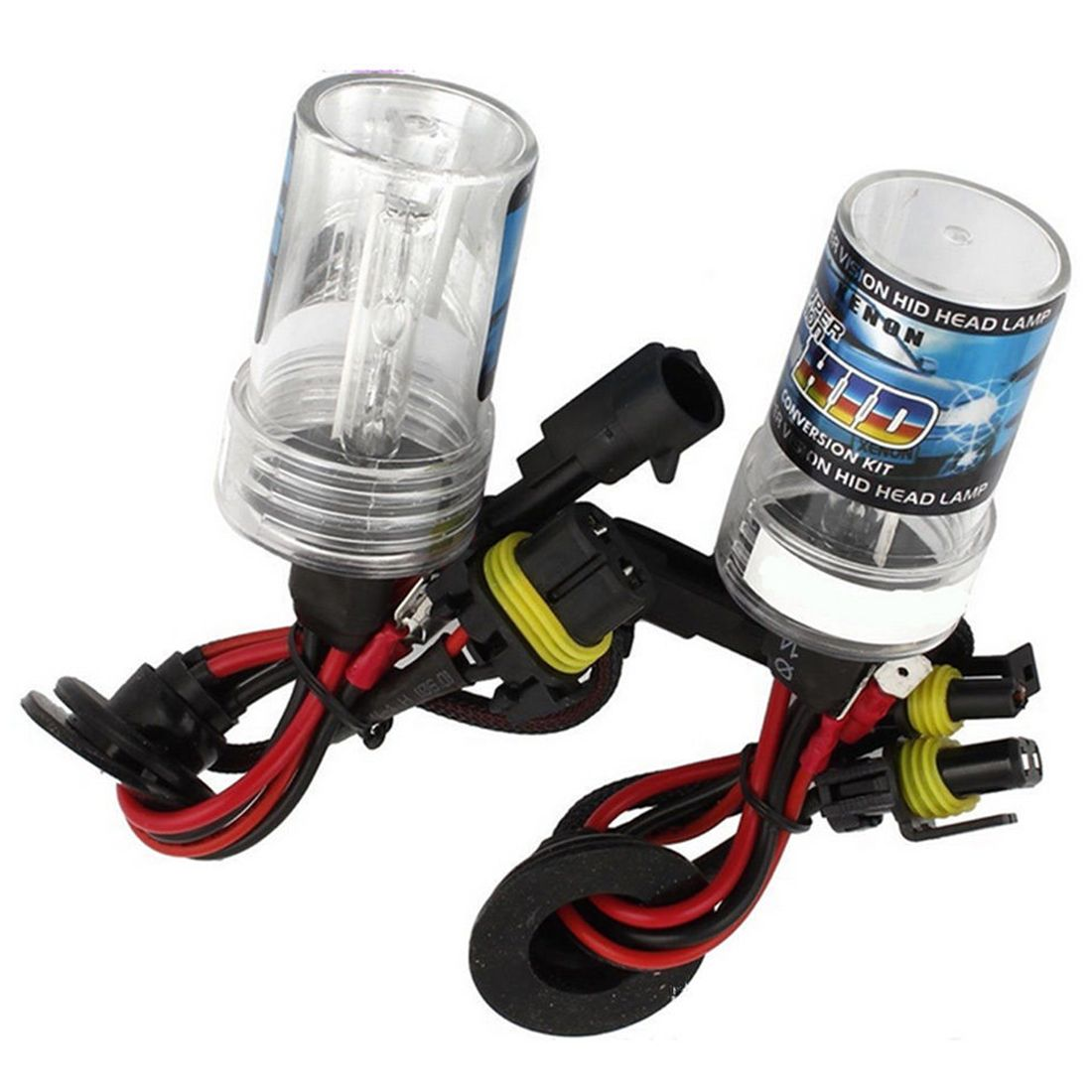 H7 HID Conversion Kit All Colors Xenon Headlight Light Bulbs Slim Ballast 55W