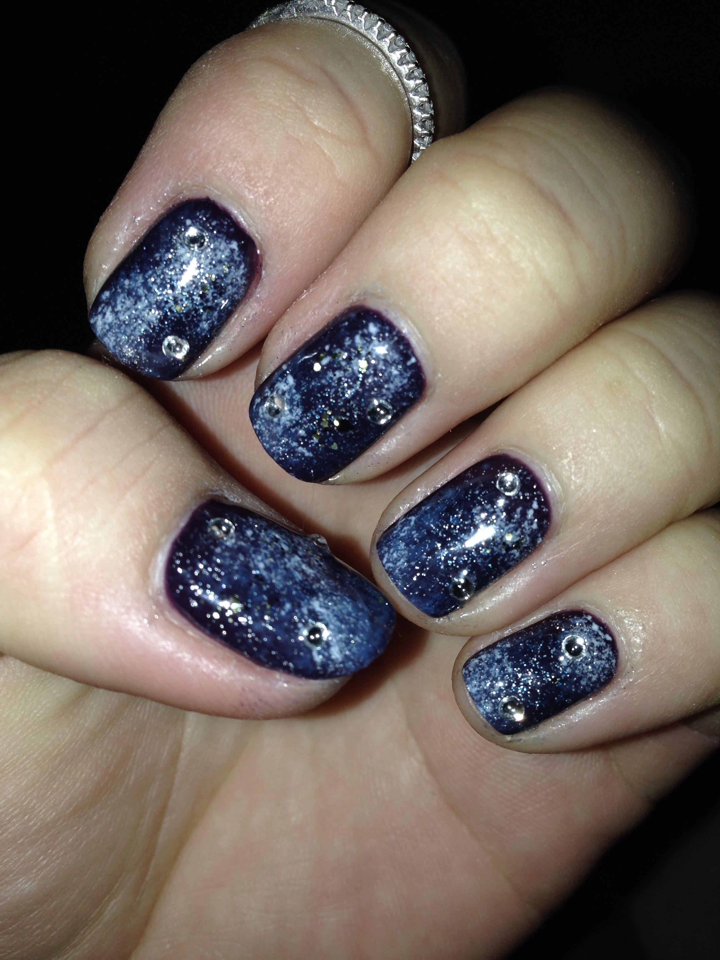Galaxy nail | Cutie nail | Pinterest | Galaxy nail