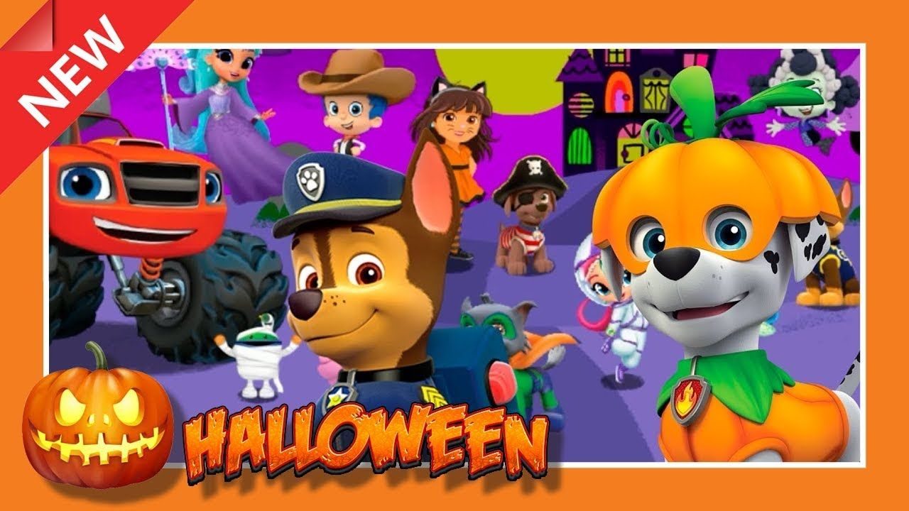 Nick Jr.: Halloween Dress-Up Parade | GAMES CHANNEL for ALL FAMILY ...