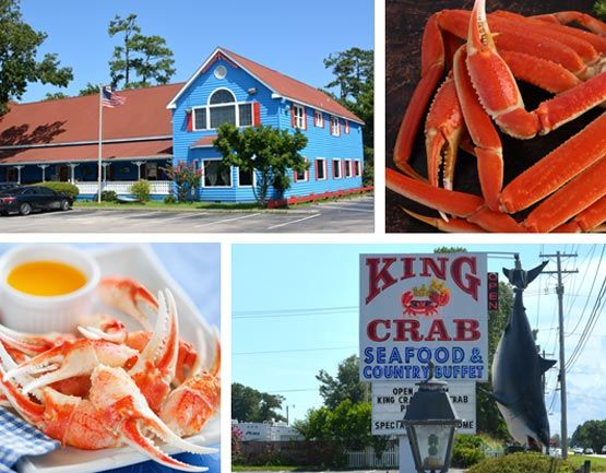 King Crab Calabash Seafood Buffet Myrtle Beach South Carolina