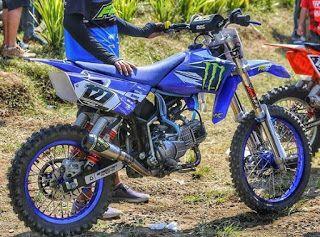 Gambar Modifikasi Bodi Bebek Modif Motor Trail Cr Gambar