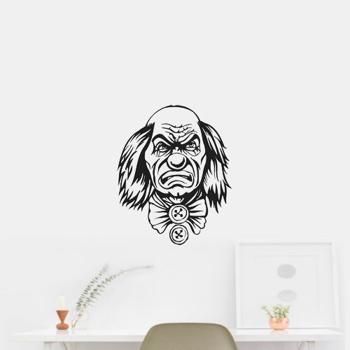 Clown JesterWall Art Car Sticker Decal 61