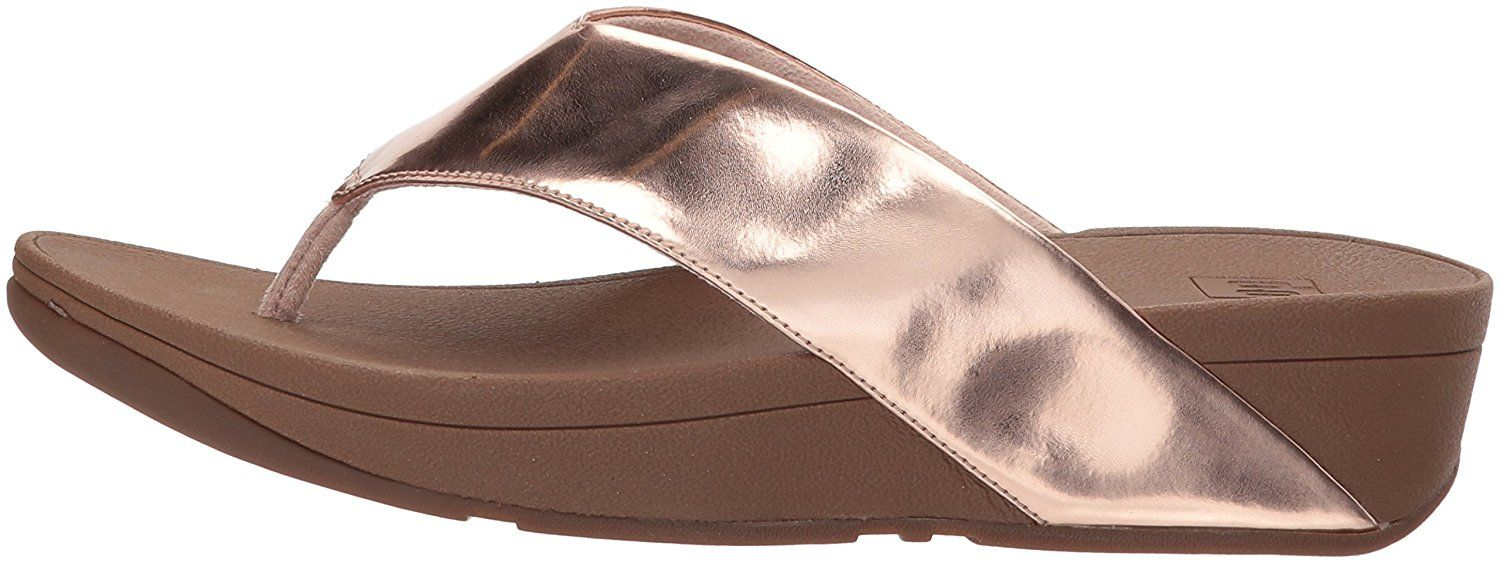 07775cca3484e FitFlop Women s Swoop Toe-Thong Sandal     Visit the image link more details