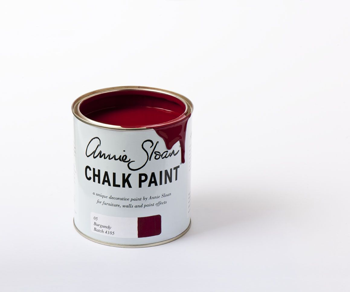 Burgundy - Inspired by Pompeii, this rich colour has a strong neoclassical heritage and is perfect for sophisticated painted furniture