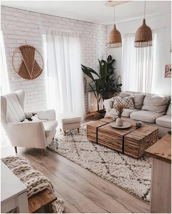 22 Cozy Apartment Living Room Decorating Ideas