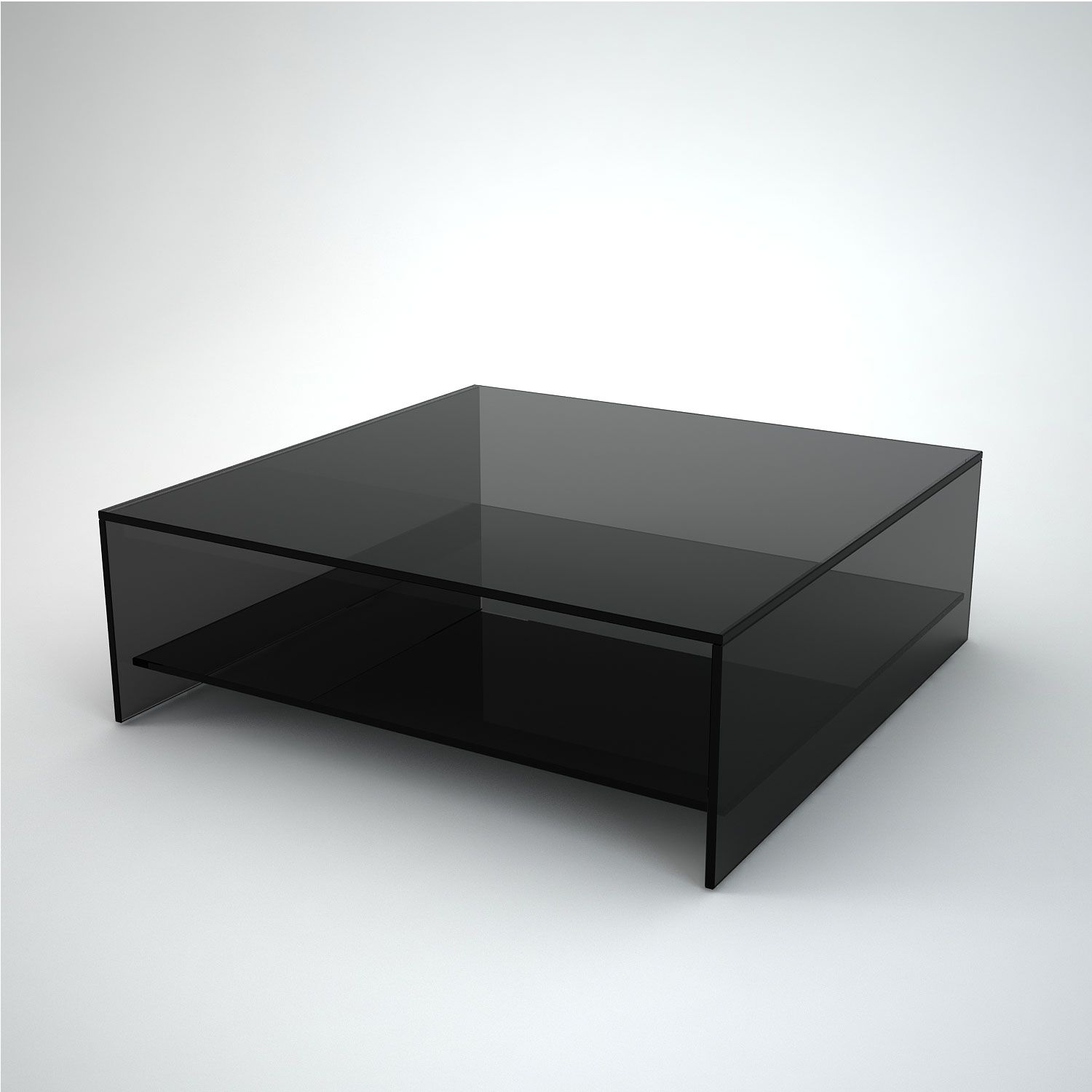 Square Black Glass Coffee Table Black Glass Coffee Table