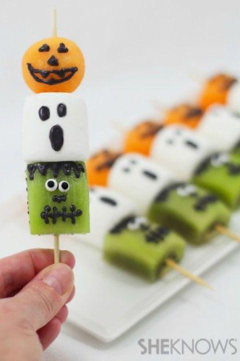 50+ Spooky and Sweet Halloween Treats | Aperitivos lindo ...