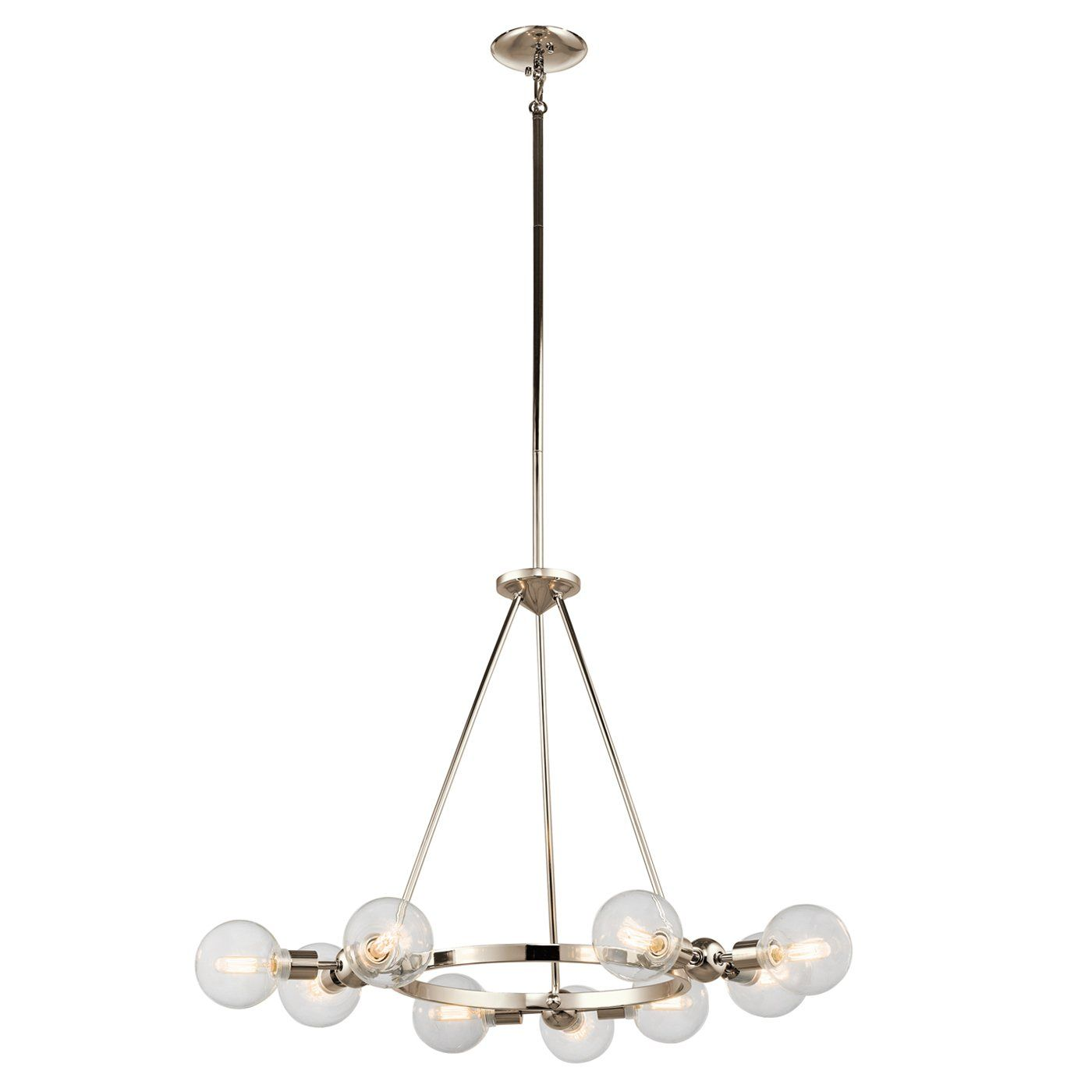 Shop kichler lighting 42474pn garim 9 light chandelier at atg stores shop kichler lighting 42474pn garim 9 light chandelier at atg stores browse our chandeliers arubaitofo Images