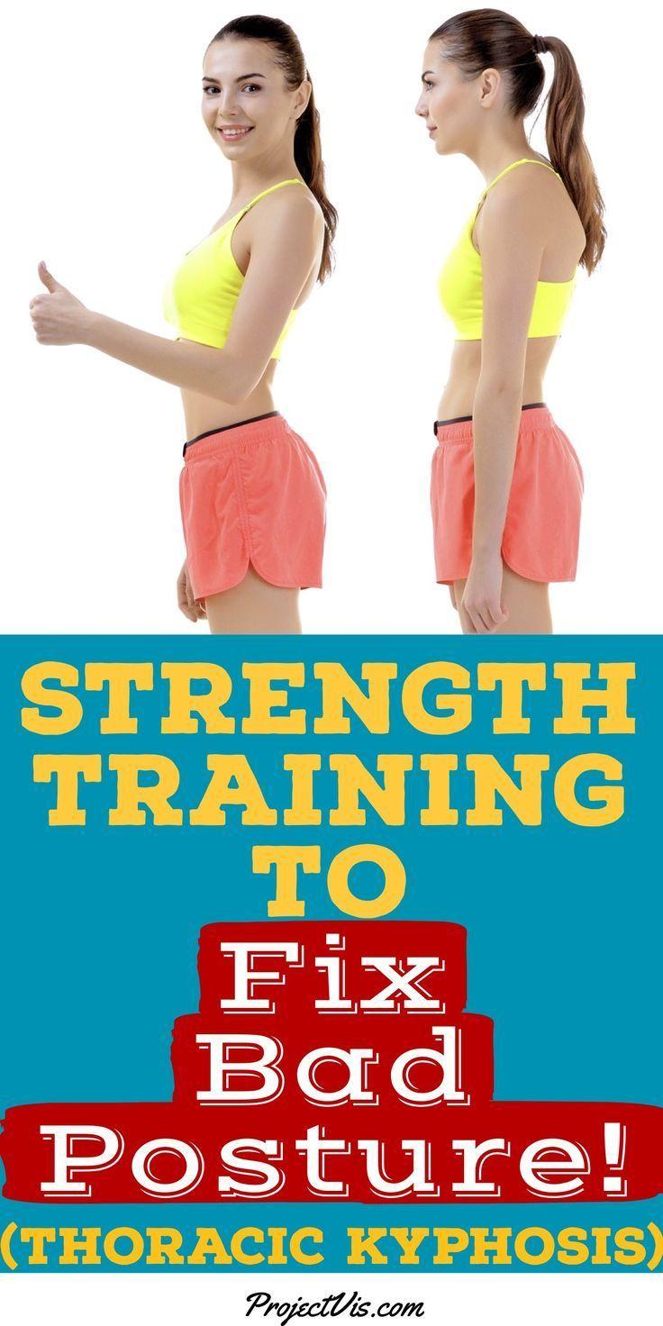 Strength Training to Fix Bad Posture! (Thoracic Kyphosis