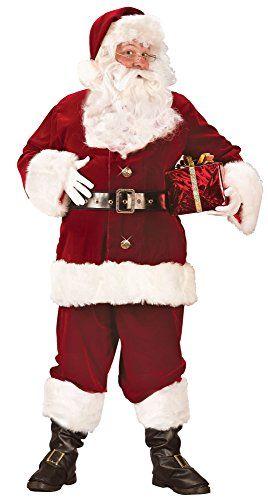 f1e45978da57 Fun World Costumes Men s Plus-Size Super Deluxe Santa Suit