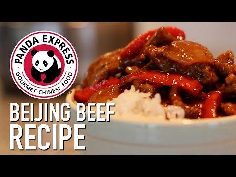 Panda Express Beijing Beef Copycat Recipe Feat Mom Youtube