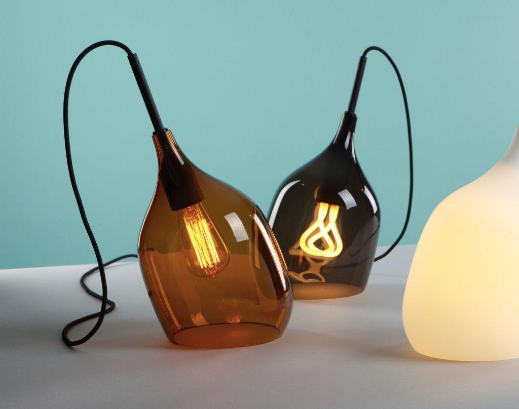 decode lighting. Decode Vessel P Table Lamp, Bronze Lighting