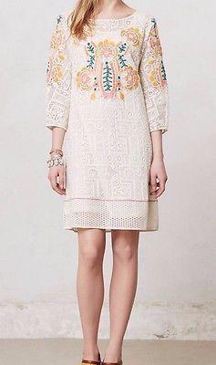 Anthropologie Devi Tunic Dress Sz S - By Vineet Bahl - NWT