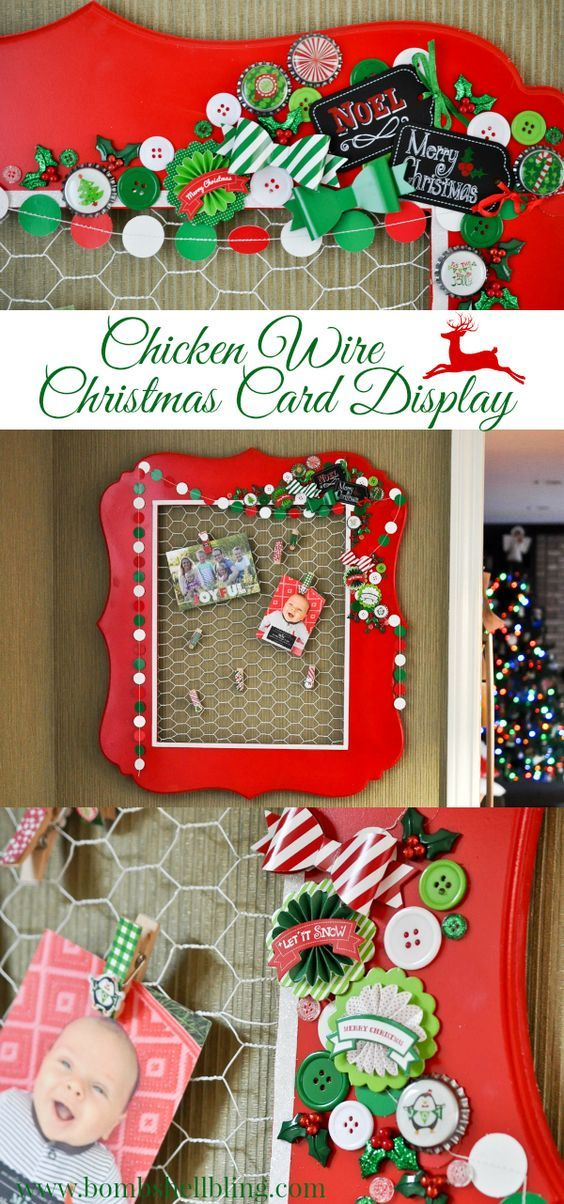 DIY Christmas Card Holder and Display Ideas *DIY Goodies