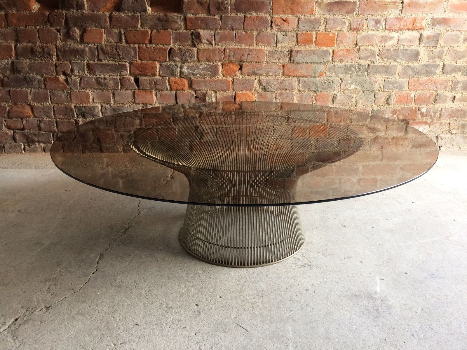 Fabulous 1960s Warren Platner for Knoll International wire base