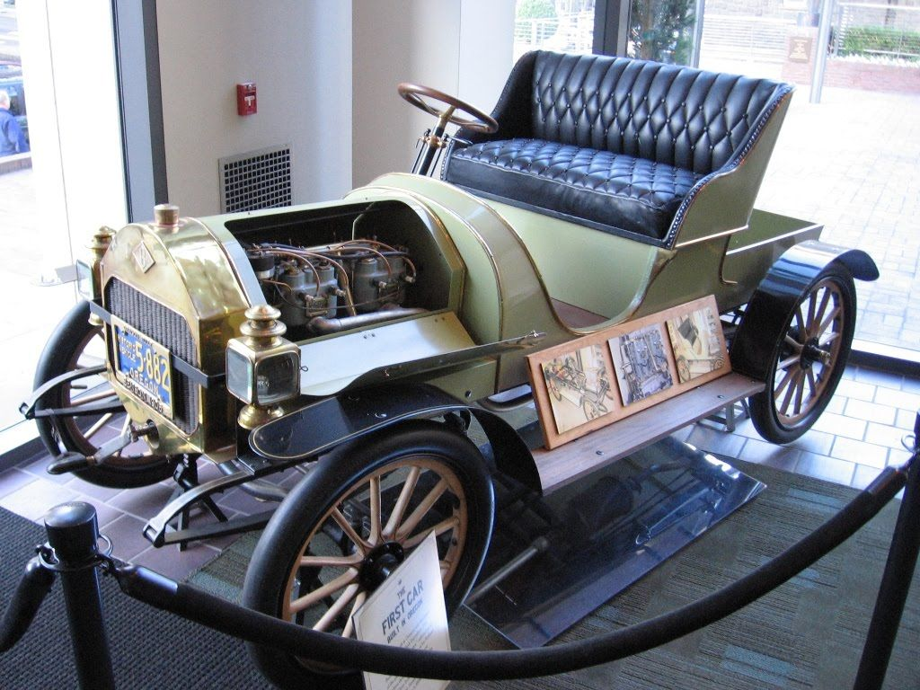 1904 shows the world the one and only Benson automobile built in ...