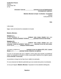 Modele Attestation Obtention Diplome Document Online Enseignement Superieur Enseignement Enseignement Secondaire