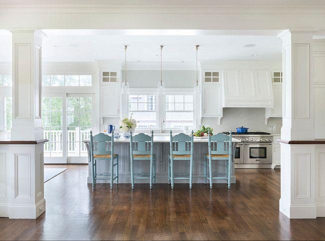 Rhode Island Beach Cottage Kitchen | Beach house kitchens ...