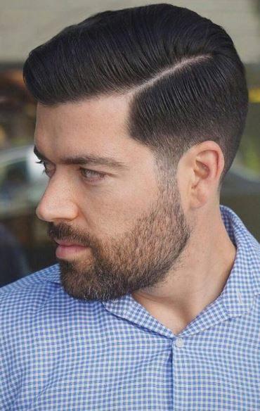 Sac Modelleri Erkek Medium Hair Styles Side Part Haircut