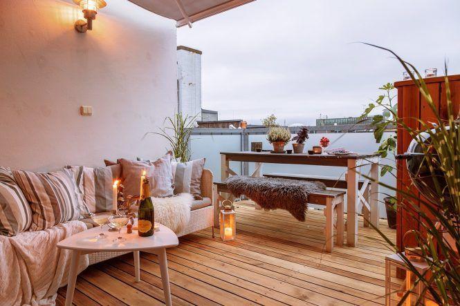 terraza nórdica terraza escandinava terraza diseño exteriores pisos - diseo de exteriores