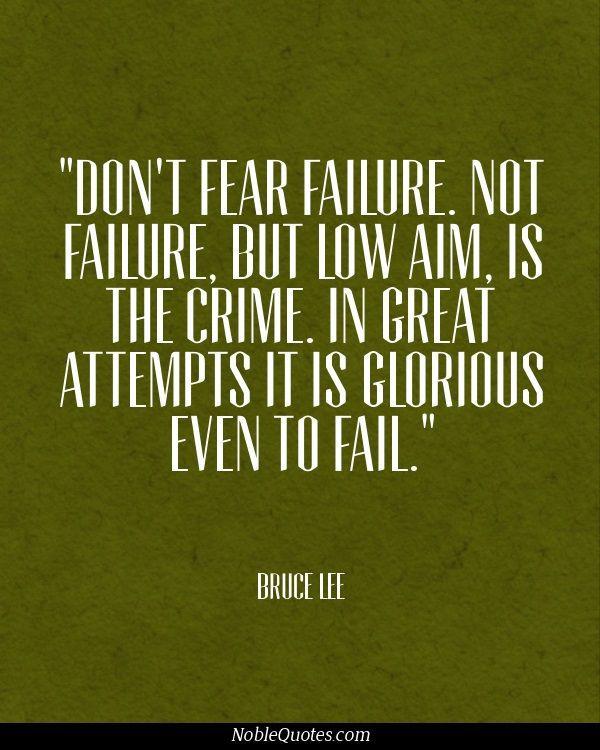 Inspirational Quotes About Failure: Pin By Noble Quotes On Failure Quotes