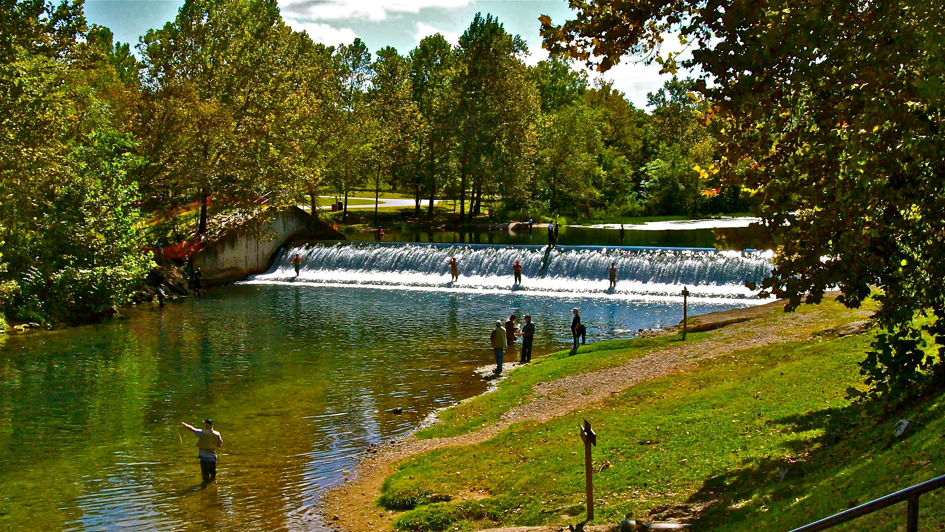 trout fishing at bennett springs the ozarks pinterest