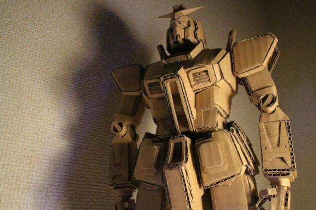 Incredible Japanese Cardboard Creations The Incredibles Japanese Cardboard