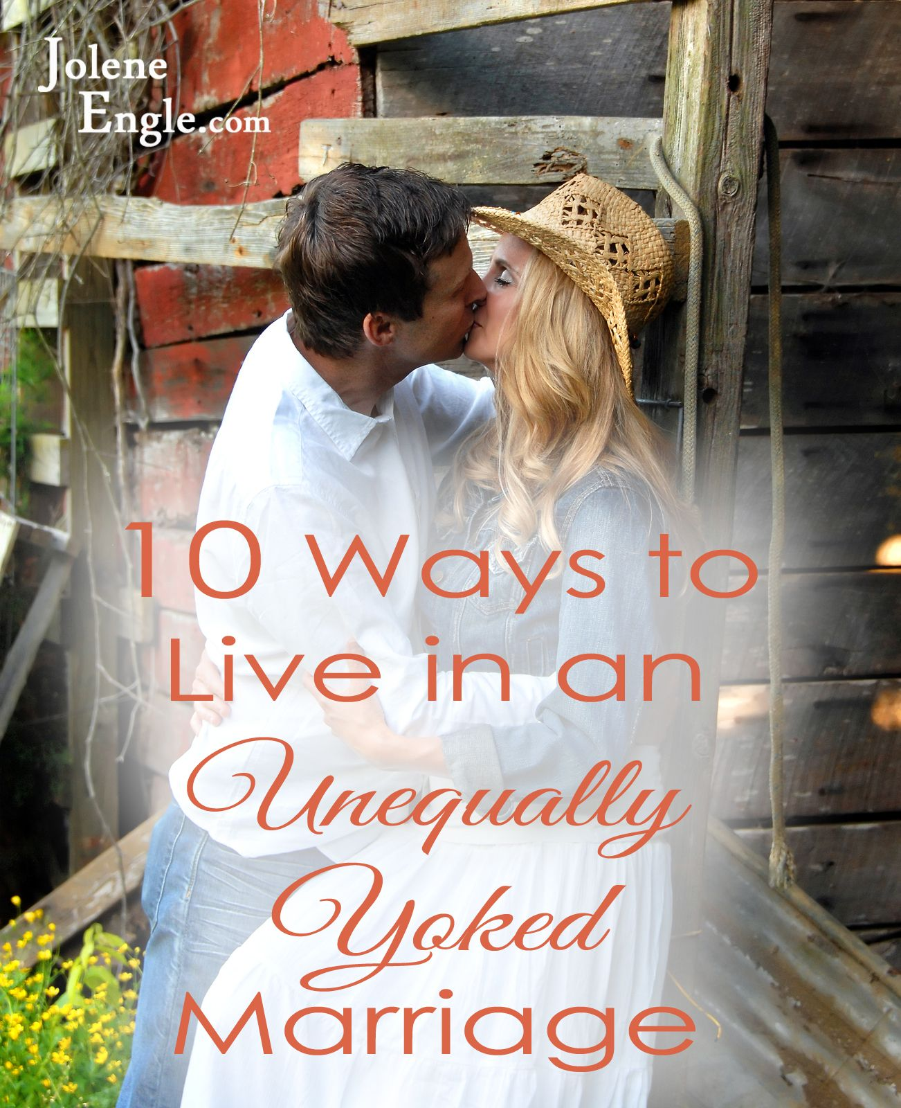 Unevenly yoked marriage