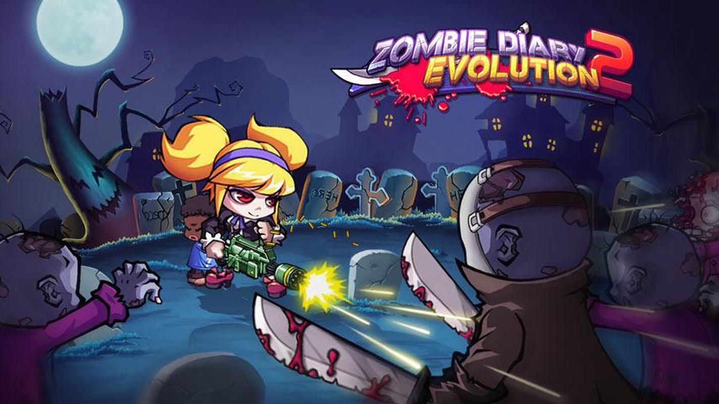 Zombie Diary 2: Evolution FULL APK Games Free Download : The