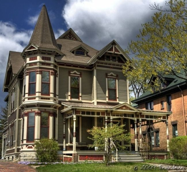 The Victorian House Victorian Style Homes Victorian Homes American Houses