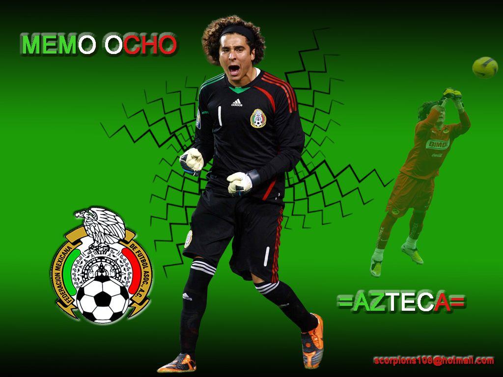 Guillermo Ochoa Memo Ochoa Soccer Team Atletico De Madrid Memo