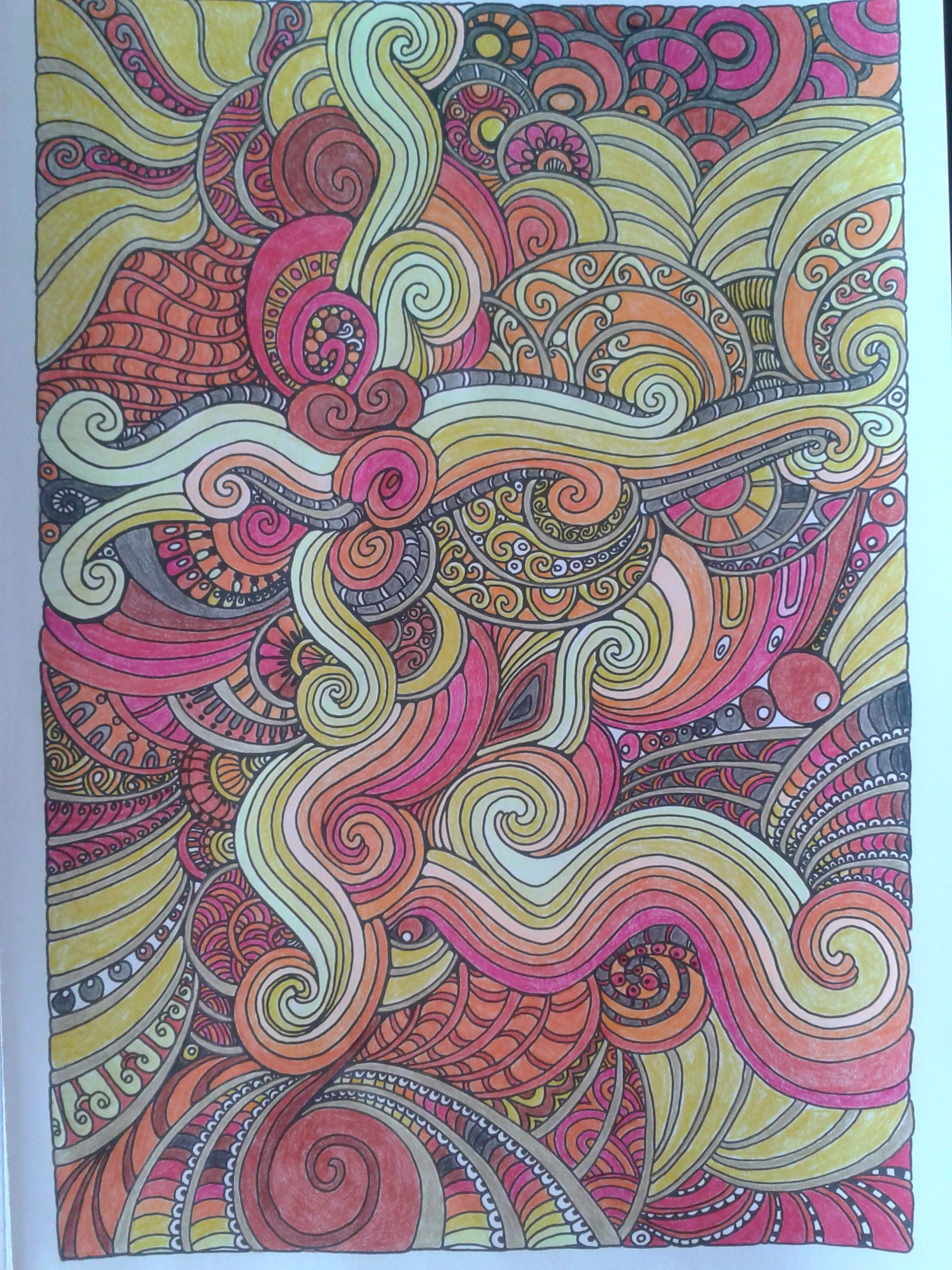 Colour therapy books for adults - Claire Cater The Can T Sleep Colouring Book