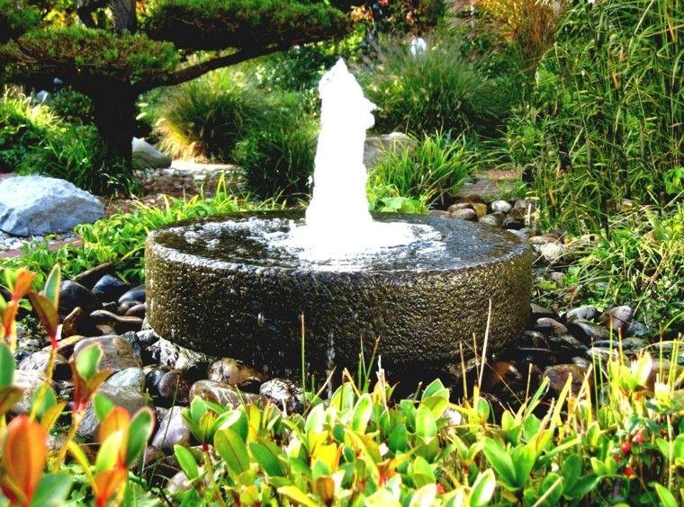 Fuentes de jardín - 100 modelos de espectáculos acuáticos | Fountain ...