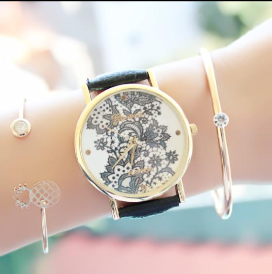 8f603bfddd82 Reloj moda mujer 2017 Pulseras De Moda