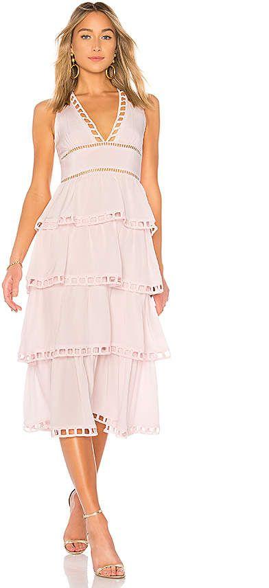 6298c556b8c Cynthia Rowley Postcard Midi Dress