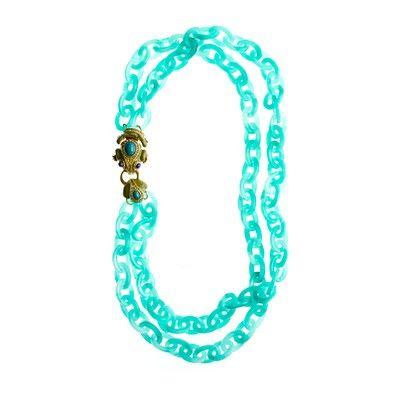 frog link necklace