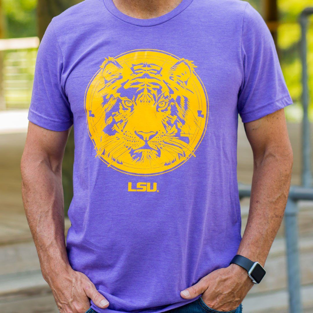We are pleased to offer you a licensed LSU tshirt