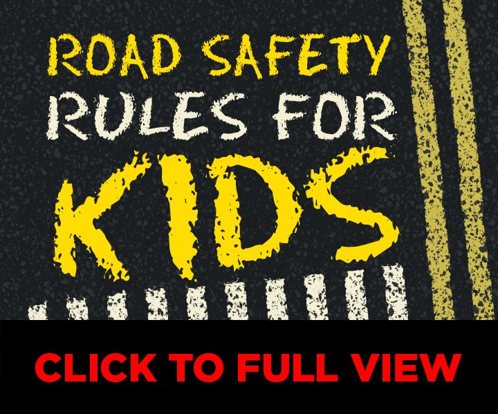 13 important road safety rules to teach your children in