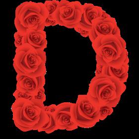 Abecedario Hecho Con Rosas Rojas Red Roses Alphabet Letras De Flores Numero Para Imprimir Abecedario Lettering