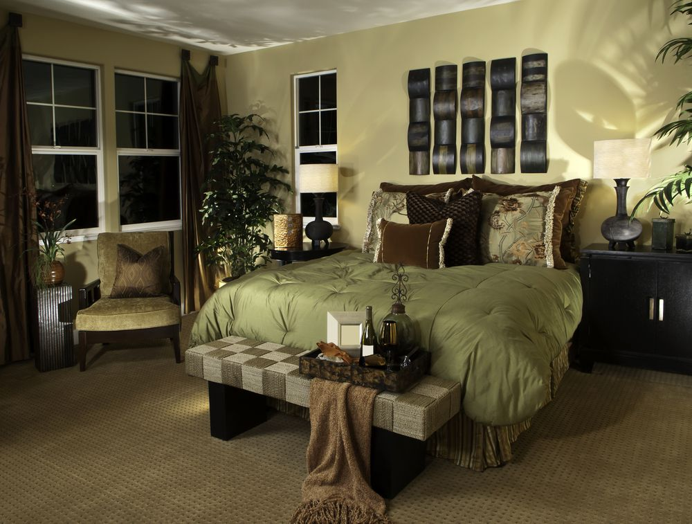 green brown luxurious earth tone interior decor google search