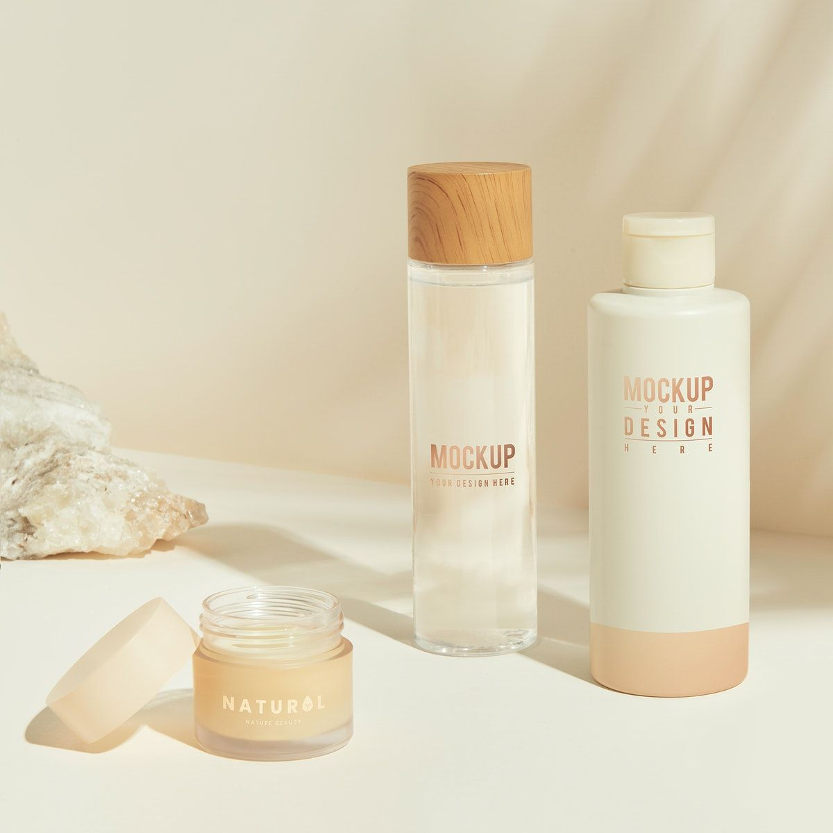 Download Premium Psd Of Set Of Skin Care Package Mockup Design 2365326 In 2021 Skin Care Packaging Cosmetics Mockup Mockup Design