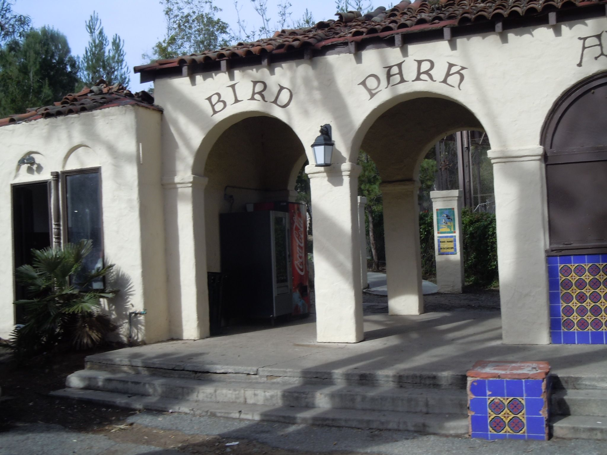 Catalina island bird park now used for children