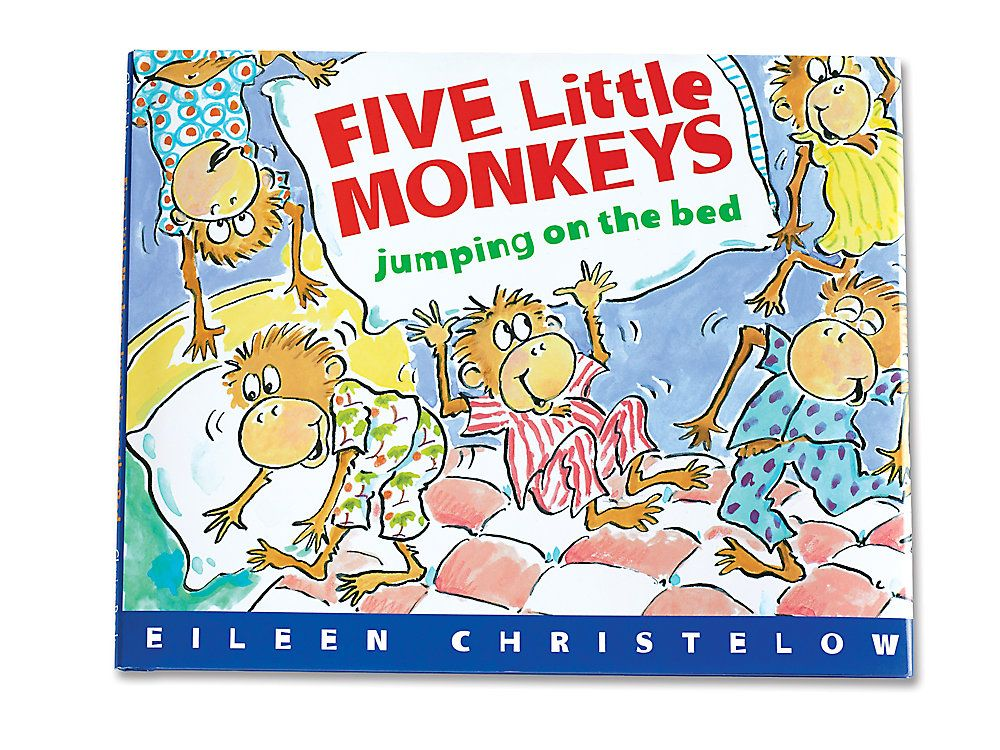 Five Little Monkeys Jumping on the Bed Hardcover Book in