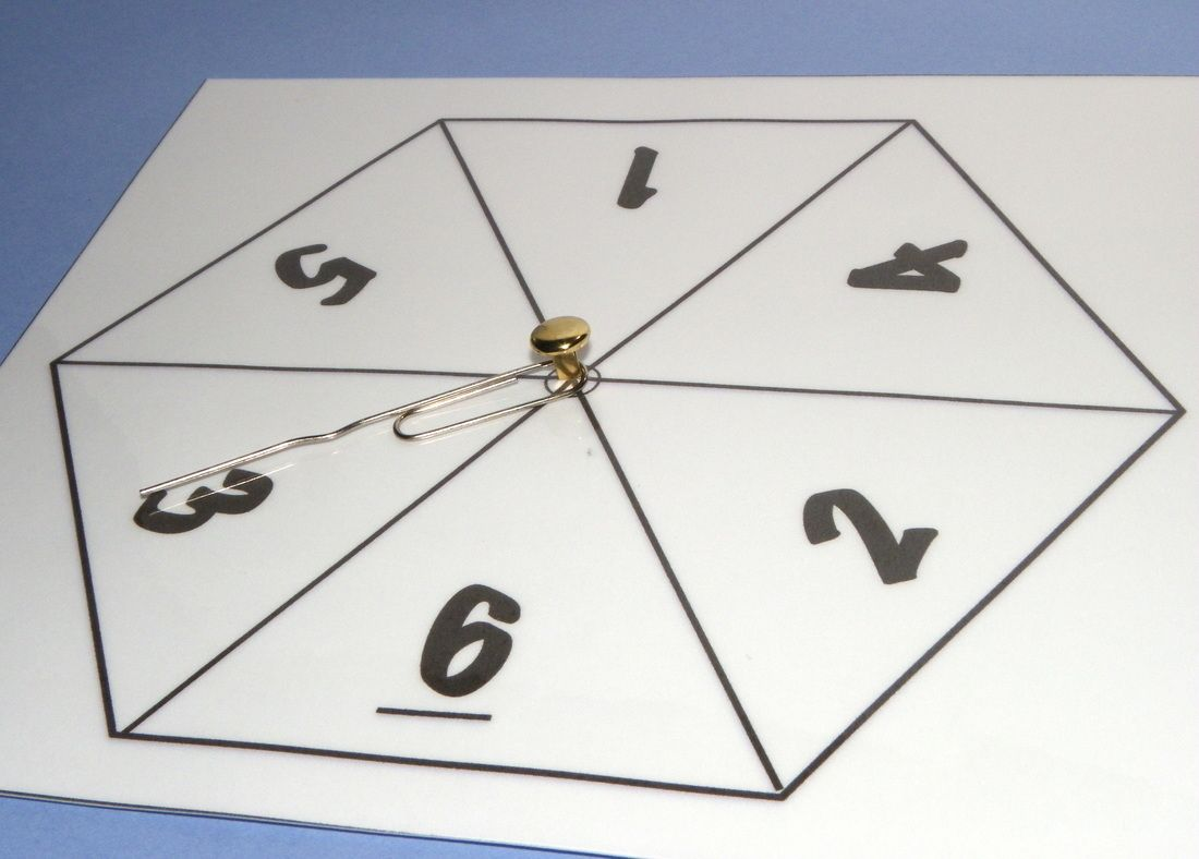 photograph about Printable Spinner identified as Free of charge printable Amount Spinners for Maths. 4 alternative