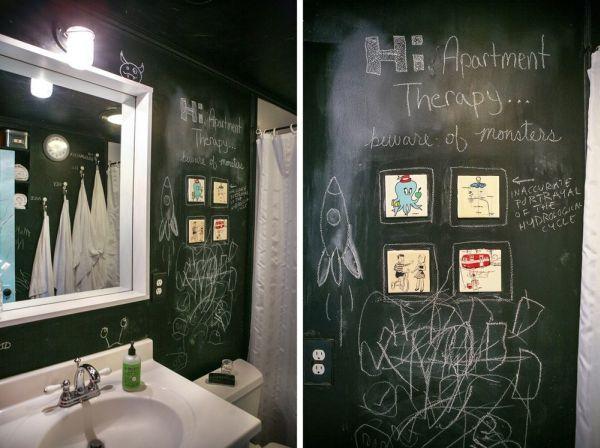 Wie Man Tafel Farbe Um Das Haus Kreativ Verwendet Tafelfolie