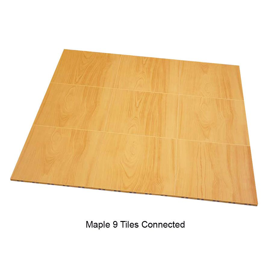 Max tile raised modular floor tile 9 tiles together maple max tile raised modular floor tile 9 tiles together maple doublecrazyfo Image collections