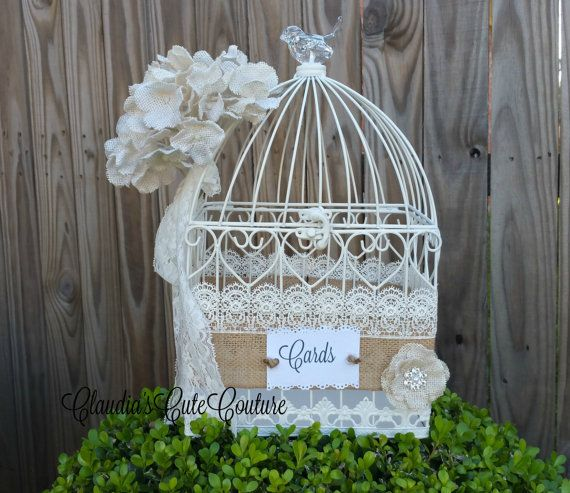 wedding birdcage card holder wedding card holder birdcage decorboxbridal shower cards boxweddingcards box shabby chic wedding box