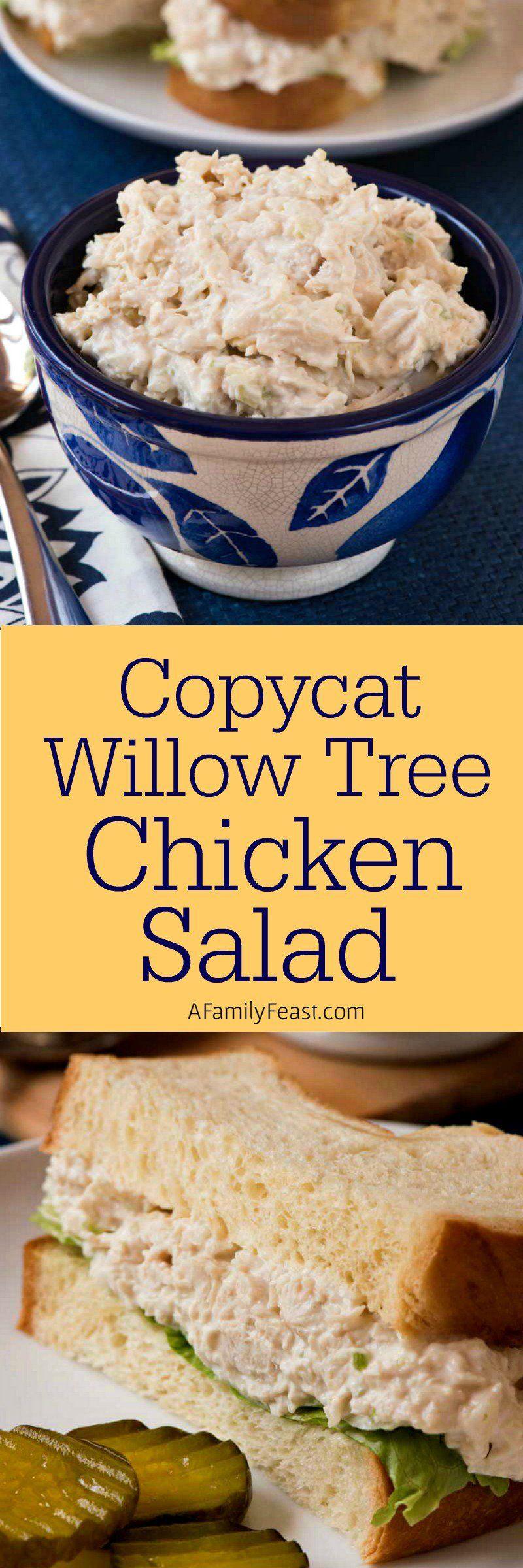 Copycat Willow Tree Chicken Salad Recipe Recipes